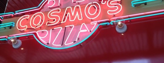 Cosmo's Pizza is one of food downtown.