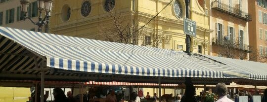 Cours Saleya is one of Nice.