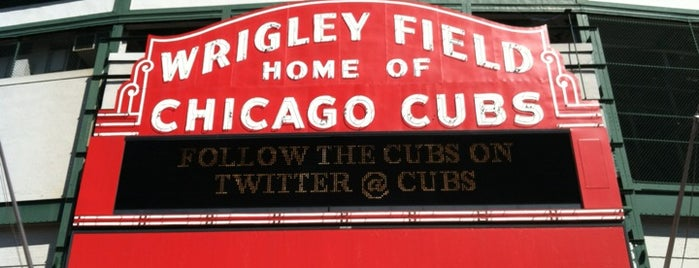 Wrigley Field is one of vacation hot spots.