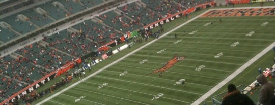 Paul Brown Stadium is one of US Pro Sports Stadiums - ALL.