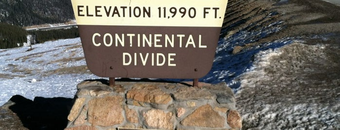 Continental Divide is one of Tappin the Rockies...
