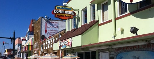 Boardwalk Coffee House is one of Tempat yang Disimpan Lizzie.