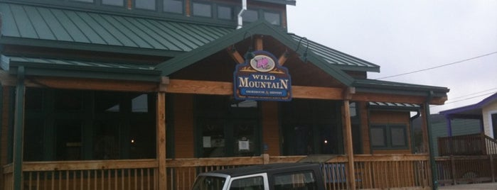 Wild Mountain Smokehouse & Brewery is one of Colorado Microbreweries.