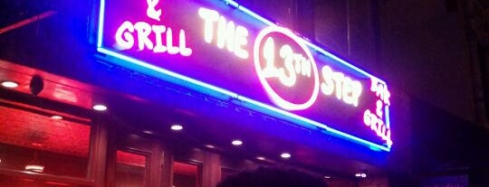 The 13th Step is one of Whisky Bars @ NYC & Boston.