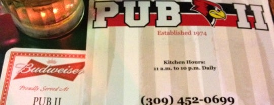 Pub II is one of Official Blackhawks Bars.