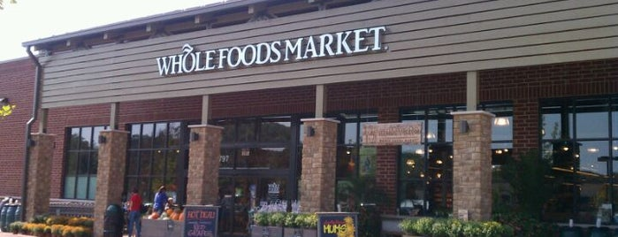 Whole Foods Market is one of 20 favorite restaurants.