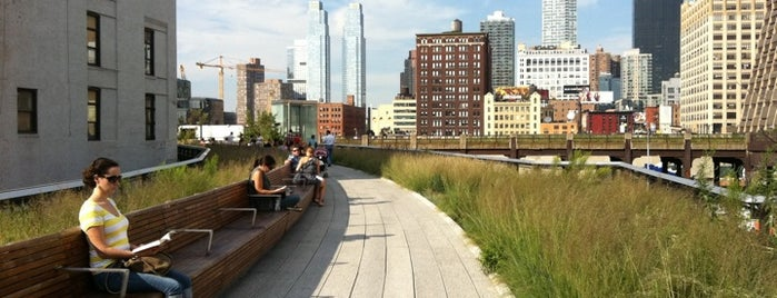 High Line is one of New York, I Love You.