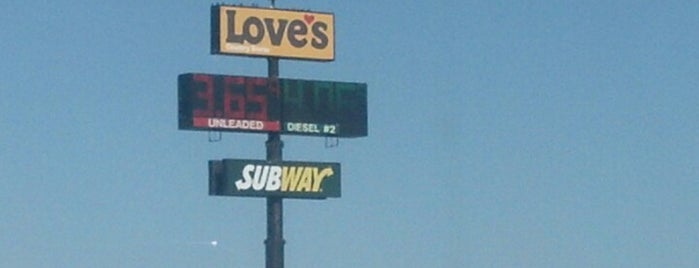 Love's Travel Stop is one of Oklahoma.