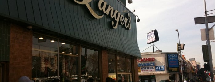 Langer's Delicatessen-Restaurant is one of Downtown.