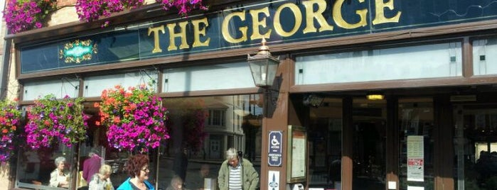 The George (Wetherspoon) is one of Cask Marque Pubs 02.