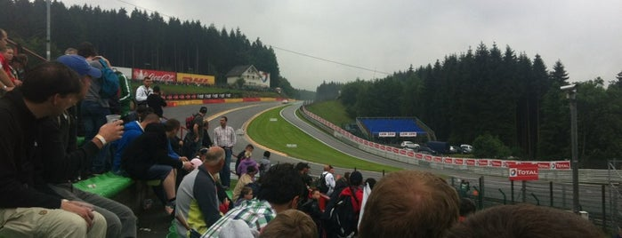 Eau Rouge is one of Bucket List for Gearheads.