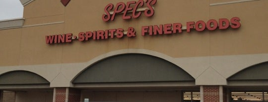 Spec's Wines, Spirits & Finer Foods is one of ESTHER'in Beğendiği Mekanlar.