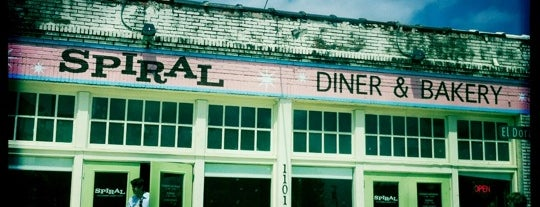 Spiral Diner & Bakery is one of My Favorite Places to Nosh.