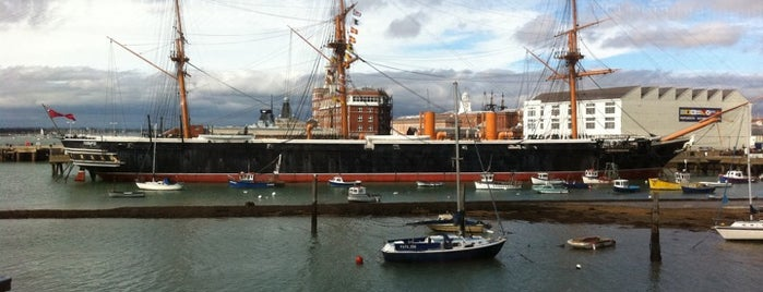 HMS Warrior is one of Ships (historical, sailing, original or replica).