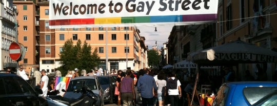 Gay Street is one of Roma LGBT.
