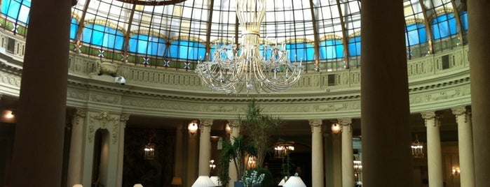 The Westin Palace is one of mylifeisgorgeous in Madrid.