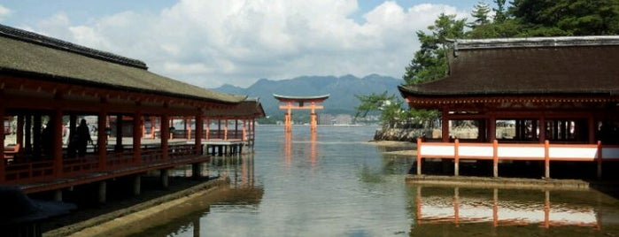 Itsukushima-jinja Shrine is one of Sightseeing spots and historic sites.