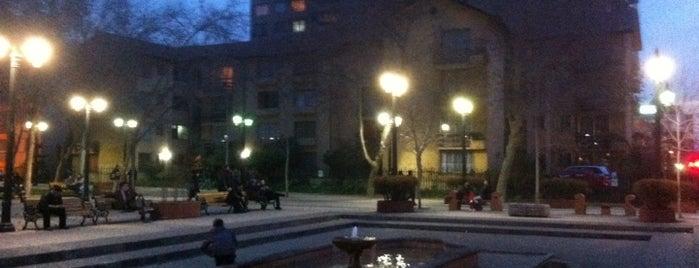 Plaza Santa Teresa de Los Andes is one of Lugares, plazas y barrios de Santiago de Chile.
