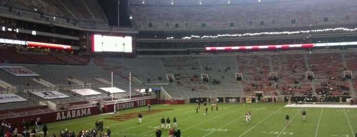 Bryant-Denny Stadium is one of Stadiums Visited.