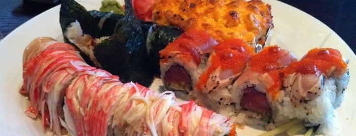 Shiki Sushi is one of Durham Favorites.