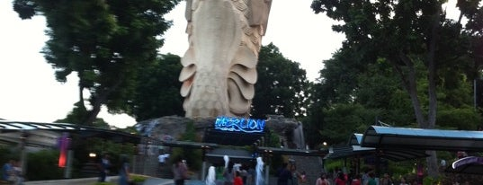 Sentosa Merlion is one of FindYourWayInSG Singapore Top Visits.