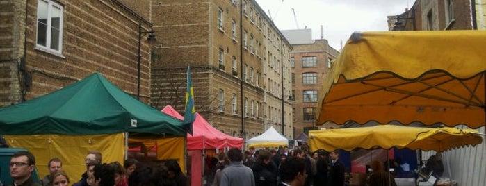 Whitecross Street Market is one of An Aussie's fav spots in London.