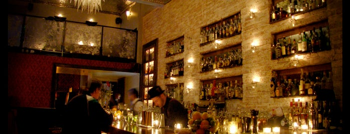 Bourbon & Branch is one of SF's rarefied boozatoriums.