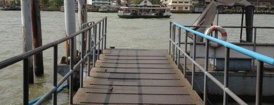ท่าเรือราชวงศ์ (Ratchavongse Pier) N5 is one of Lieux sauvegardés par Albert.
