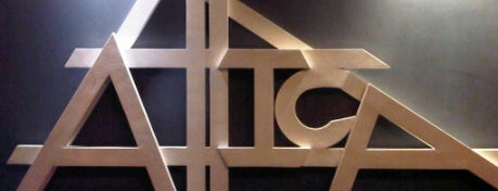 Attica Bar is one of Mark.