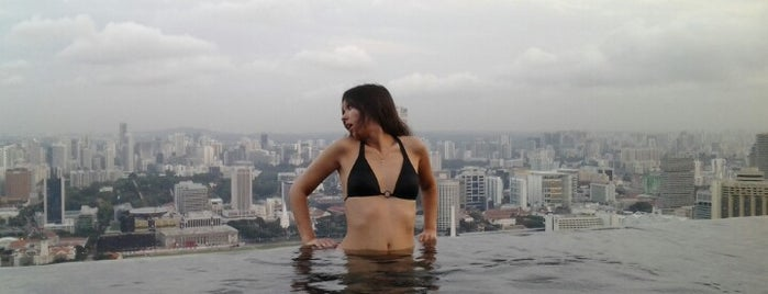 Rooftop Infinity Pool is one of Singapore/シンガポール.