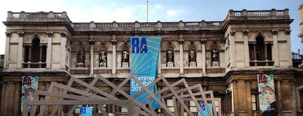 Royal Academy of Arts is one of London Essentials.