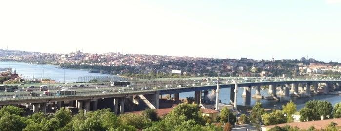 Haliç Köprüsü is one of İstanbul.