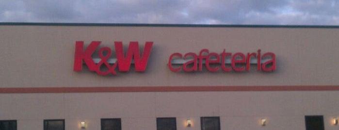 K&W Cafeteria is one of Locais curtidos por Daniel.