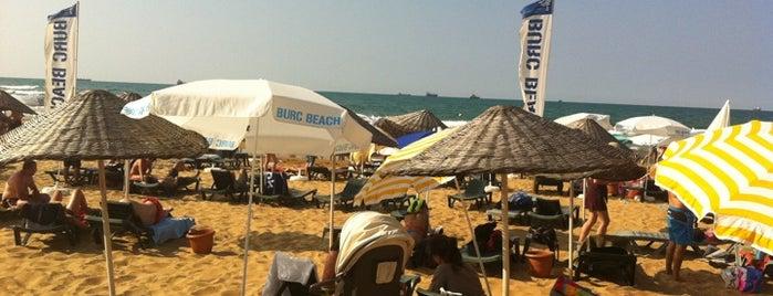 """Burc Beach is one of """"Sıcak Temas"""" Yaşatan Yerler."""