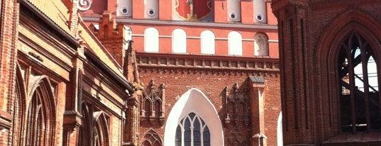 Šv. Pranciškaus Asyžiečio (Bernardinų) bažnyčia is one of Best of Vilnius.
