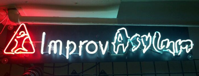 Improv Asylum Theatre is one of BUcket List.