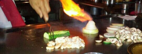 Kobe's Japanese Steakhouse is one of SoCal Musts.