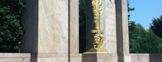 Second Division Memorial (Flaming Sword Monument) is one of DC Monuments Run.