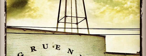 Gruene Hall is one of New Braunfels.