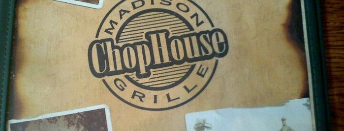Madison ChopHouse Grille is one of Lieux qui ont plu à Todd.