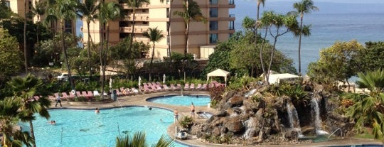 Ka'anapali Beach Club is one of My Fave places.