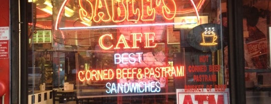 Sable's is one of Places to try.