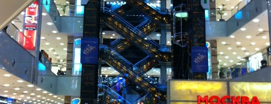 Evropeisky Mall is one of TOP of Moscow.