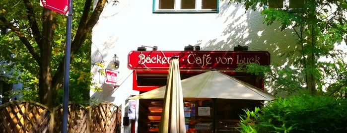 Cafe von Luck is one of Lieux sauvegardés par Elena.