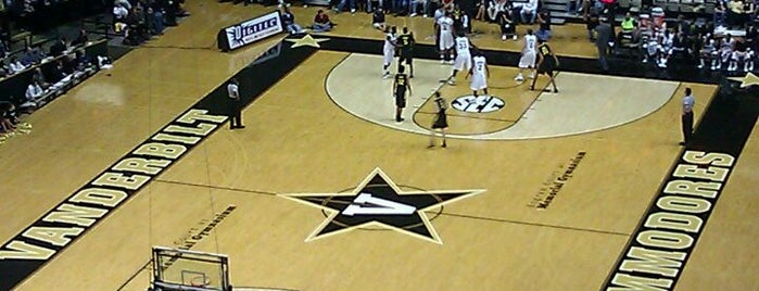 Memorial Gymnasium is one of SEC Basketball Arenas.