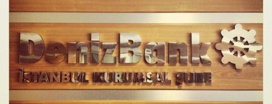 DenizBank is one of arz-ı'nın Beğendiği Mekanlar.