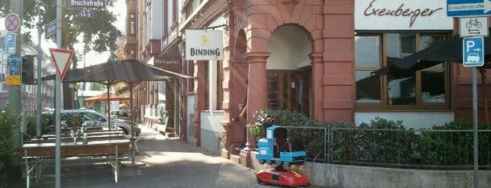 Exenberger is one of FRA - Frankfurt am Main.