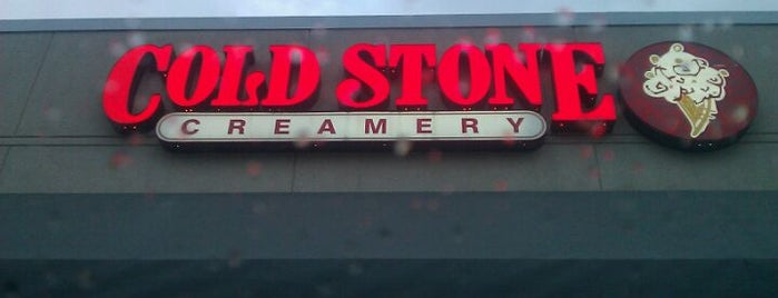 Cold Stone Creamery is one of Orte, die Janell gefallen.