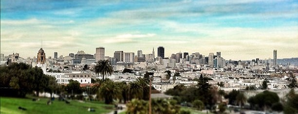 Mission Dolores Park is one of liver's best of SFO.