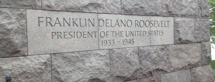 Franklin Delano Roosevelt Memorial is one of Things To Do In Virginia.
